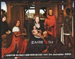 Zaire - Bloc 36 (BL36) - Memling - 1979 - MNH - Zaire