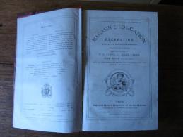 MAGASIN D'EDUCATION ET DE RECREATION HETZEL 1881, Volumes  XXXIII et XXXIV, Jules VERNE, STAHL, ill. Bellenger, Benett..