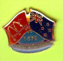 Pin's Mac Do McDonald's Drapeau Nouvelle-Zélande / New Zealand (1er Restaurant 1976) - 10X01 - McDonald's