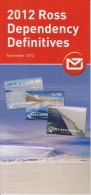 Ross Dependency Brochure 2012 Definitives - Mt. Erebus - Beardmore Glacier - Lake Vanda - Cape Adare - Ross Ice Shelf - Ross Dependency (Nieuw-Zeeland)
