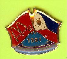 Pin's Mac Do McDonald's Drapeau Philippines (1er Restaurant 1981) - 10X06 - McDonald's