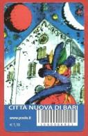 TESSERA FILATELICA ITALIA - 2014 - Città Nuova Di Bari - 1946-.. Republiek