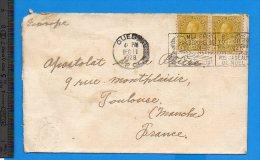 Enveloppe Quebec 1928 Pour Toulouse - Lettres & Documents