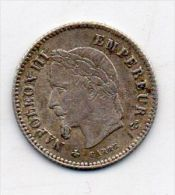 20 CENT 1867 A - E. 20 Centesimi