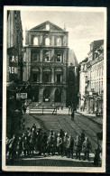 "CPA S/w Anlaßkarte France Lille 1916  ""Bürgermeisterei In Lille Nach Dem Brand Am 23.4.1916,belebt   ""1 AK Used,bef. - Lille"
