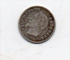 20 CENT 1867 BB - France