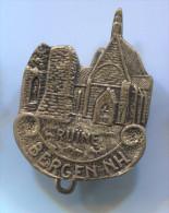 BERGEN NH - Norway, Blason, Coat Of Arms, Vintage Pin Badge - Villes