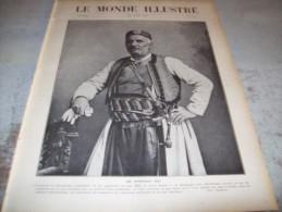 LE MONDE ILLUSTRE 30 JUILLET 1910 :  LES FOR�ATS - AUTOUR DE LA MER MORTE - LOMBARDIE - PRINCE DU MONTENEGRO