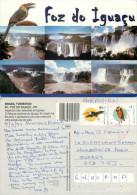 Foz Do Iguazu, Argentina Postcard Posted 1999 Stamp - Argentina