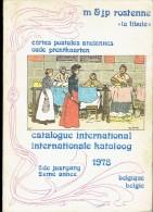 Catalogue 1978 M. & J.P. ROSTENNE - Cartes Postales Anciennes - Oude Prentkaarten - Livres