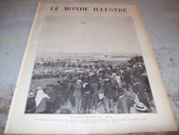 LE MONDE ILLUSTRE 13 AOUT 1910 : LE CIRCUIT DE L'EST - MUSEE DE NARBONNE - CONSTANTINOPLE - LIBERIA