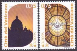 CEPT / Europa 2012 Vatican N° 1594 Et 1595 ** Tourisme - 2012
