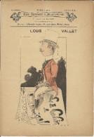 Les Hommes d�Aujourd�hui .  Louis VALLET .  N� 384 . Dessins de LUQUE .  1886 . Librairie VANIER .