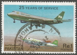 Pakistan. 1980 25th Anniv Of Pakistan International Air Lines. 1r Used. SG 512 - Pakistan