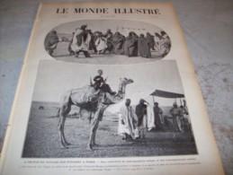 LE MONDE ILLUSTRE 27 AOUT 1910 : AU PAYS DE TOUAREGS - EMPEREUR D'AUTRICHE - DESSINS DE VICTOR HUGO