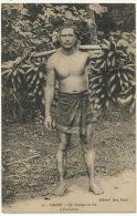 15 Tahiti Un Porteur De Fei Edit Spitz Bel Homme Nu 2 Timbres Art Deco 1925 Vahiné - Tahiti