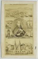 CDV Circa 1870 Vendue Au Profit De La Reconstruction De L'Eglise De La Louvesc (Ardèche). - Anciennes (Av. 1900)