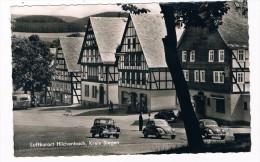 D5092       HILCHENBACH :  Mit Volkswagen Käfer, Beetle - Siegen