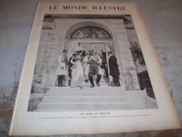 LE MONDE ILLUSTRE 10 SEPTEMBRE 1910 :  MONTENEGRO - FALLIERES EN SAVOIE - CHINE -