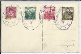 TCHECOSLOVAQUIE / SUDETES - 1939 - CARTE De NEUERN Avec CACHET CLANDESTIN ? ZELEZNA RUDA - Sudetenland
