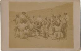 Real Photo  Tirailleurs Senegalais en Orient La Danse