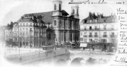 BESANCON   28 Doubs   Pont De Battant   Place Jouffroy   La Madeleine   1892           -N- - Besancon