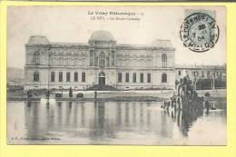 CPA LE PUY Le Musée Crozatier 1904 Superbe Oblitération - Le Puy En Velay