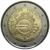 2 EUR 2012 - FINLAND UNC - 10 Jaar Euro 2002-2012 - Finland