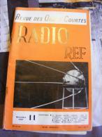 Revue Des Ondes Courtes RADIO REF, Novembre 1957 N°11 - Scienza