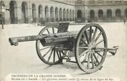MUSEE DE L ARMEE     CANON DE 75 - Guerre 1914-18