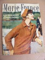 Marie France N° 19, Octobre 1957 - Cultura