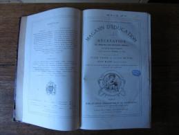 MAGASIN D�EDUCATION ET DE RECREATION HETZEL 1889, Volumes  LXIX et L, Jules VERNE, LAURIE, ill. Becker, Fro�lich, Bayard