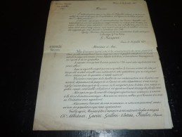 COMPAGNIE MARITIME VALERY - PAQUEBOTS POSTE; CONTINENT CORSE 1873 - COPIES OFFICIELLES DES 3 LETTRES...VOIR ANNONCE - Boats
