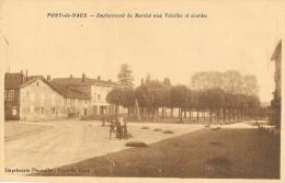 Pont-de-Vaux (Ain) - Emplacement Du Marché Aux Volailles Et Denrées - Imprimerie Nouvelle - Pont-de-Vaux
