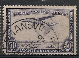 CONGO BELGE PA15 COSTERMANSVILLE - Airmail: Used