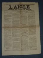 L'AIGLE - JOURNAL DE L'APPEL AU PEUPLE AJACCIO 8 JUIN 1878