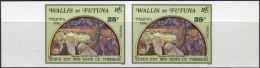Walles Et Futuna 1980. Michel #373 MNH/Luxe. Imperf. Easter. (TS35/B28) - Non Dentelés, épreuves & Variétés