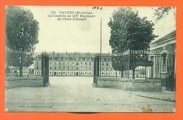 """Dpt  56  Vannes """"   La Caserne Au 512° Regiment De Chars D'assaut  """" - Vannes"""