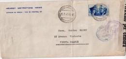 """ITALIE : GUERRE . 1941 . DU MINISTÈRE DE LA CULTURE POPULAIRE DE """" ROME """" . CENSURÉE POUR """" VICHY """" - 9. Ocupación 2ª  Guerra (Italia)"""
