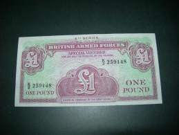British Armed Forces  1 Pound. - Regno Unito