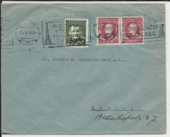 SLOVAQUIE - 1940 - ENVELOPPE De BRATISLAVA Avec MECA Pour ZÜRICH (SUISSE) - Slovaquie
