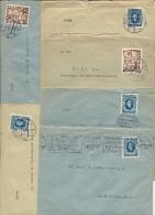 SLOVAQUIE - 1941 - ENSEMBLE De 12 ENVELOPPES De BRATISLAVA Pour ZÜRICH (SUISSE) - Slovaquie