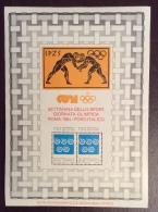 ERINNOFILO CINDARELLA - FOGLIETTO  C.O.N.I. GIORNATA OLIMPICA ROMA 1984  - FORO ITALICO - Erinnofilia
