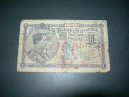 Belgium . 1 Francs 1920. - [ 2] 1831-... : Belgian Kingdom