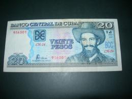 Cuba.  20 Pesos  2005. VF