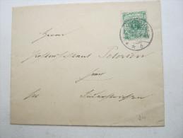 1896, HUSUM , Ortsbrief - Brieven En Documenten