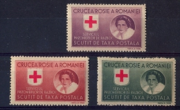 ROMANIA, Red Cross - Cinderellas