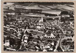 (89) - PONT SUR YONNE - VUE AERIENNE - LA GARE, LA VILLE ET L'YONNE - Pont Sur Yonne