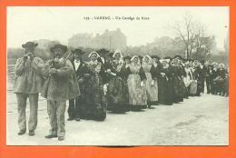 "Dpt  56  Carnac  ""  Un Cortège De Noce  "" - Carnac"