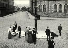 Postcard Edwardian Street Artist Lothian Road Edinburgh 1903 - Entertainment